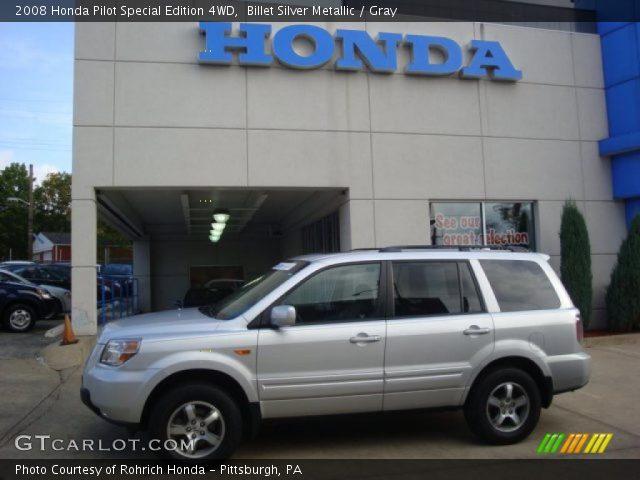 2008 Honda Pilot Special Edition 4WD in Billet Silver Metallic