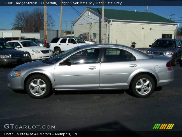 bright silver metallic 2006 dodge stratus sxt sedan. Black Bedroom Furniture Sets. Home Design Ideas