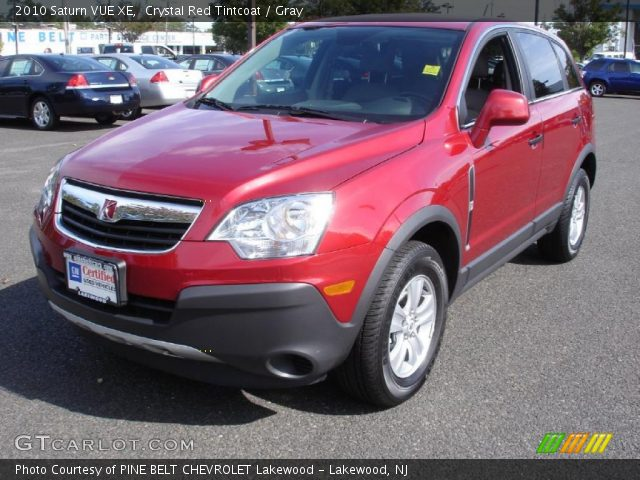 crystal red tintcoat 2010 saturn vue xe gray interior vehicle archive 37321504. Black Bedroom Furniture Sets. Home Design Ideas
