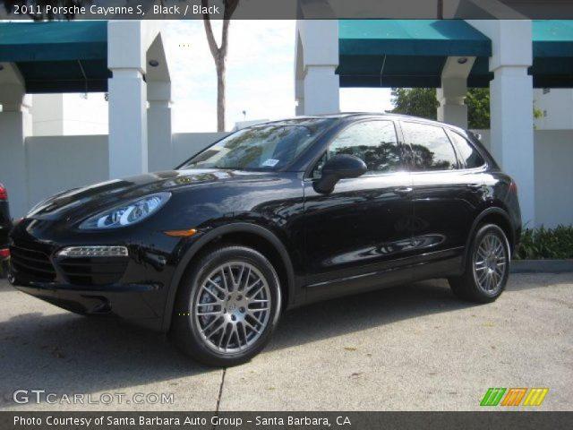 Porsche Cayenne 2011 Black. Black 2011 Porsche Cayenne S