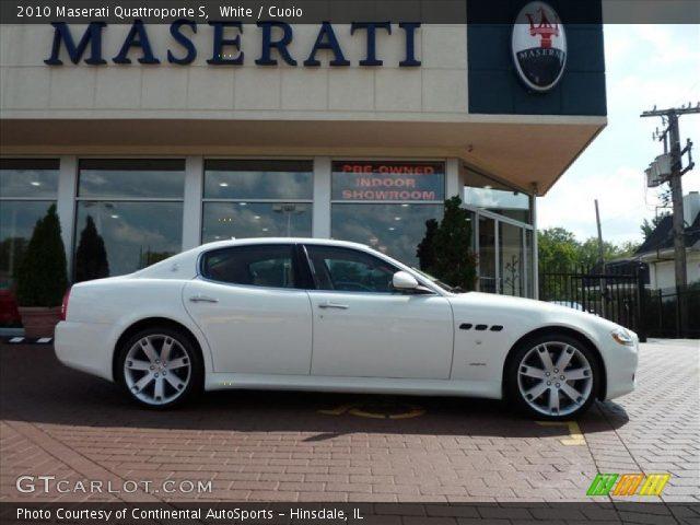 2010 Maserati Quattroporte S in White