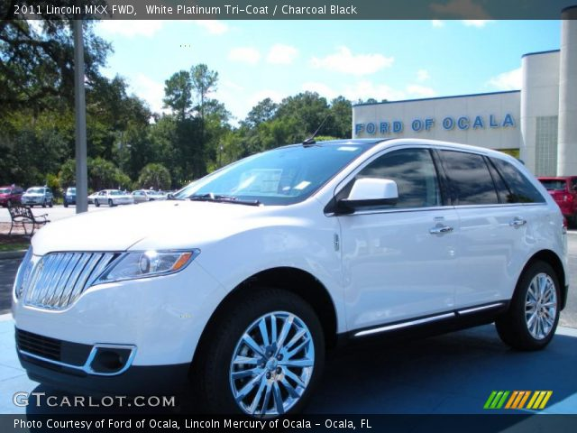 2011 Lincoln MKX FWD in White Platinum Tri-Coat