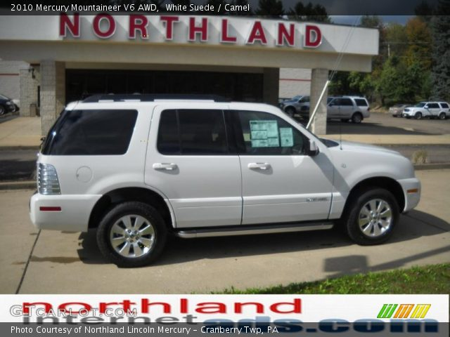 2010 Mercury Mountaineer V6 AWD in White Suede