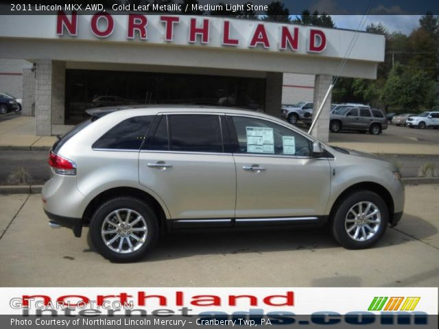 2011 Lincoln MKX AWD in Gold Leaf Metallic