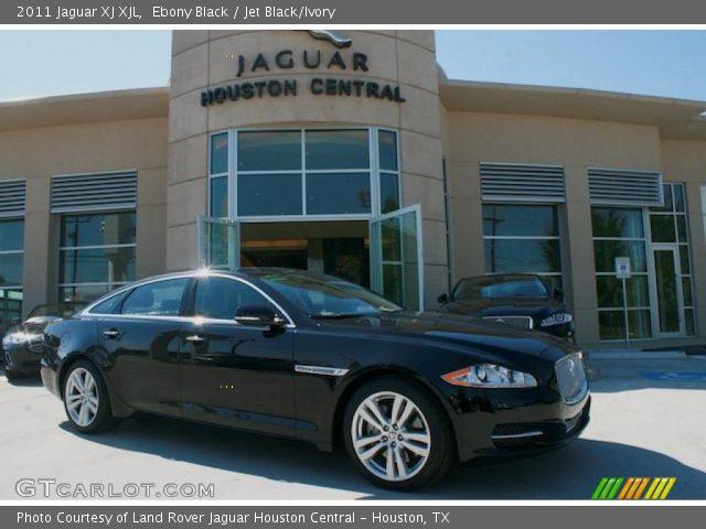 2011 Jaguar XJ XJL in Ebony Black