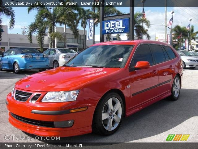 laser red 2006 saab 9 3 aero sportcombi wagon. Black Bedroom Furniture Sets. Home Design Ideas