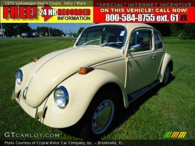 1970 volkswagen beetle interior. Ivory 1970 Volkswagen Beetle