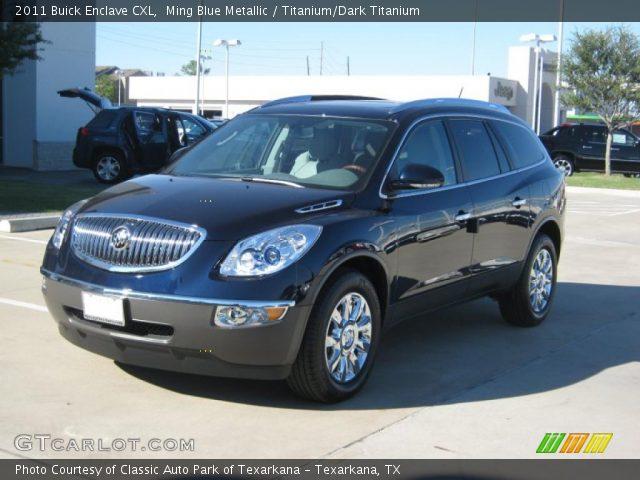 2010 Buick Enclave For Sale >> Ming Blue Metallic - 2011 Buick Enclave CXL - Titanium ...