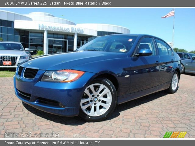 mystic blue metallic 2006 bmw 3 series 325i sedan. Black Bedroom Furniture Sets. Home Design Ideas