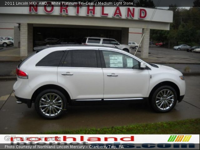 2011 Lincoln MKX AWD in White Platinum Tri-Coat
