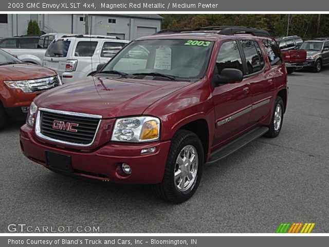 magnetic red metallic 2003 gmc envoy xl slt 4x4 medium. Black Bedroom Furniture Sets. Home Design Ideas