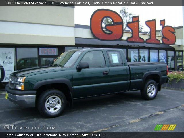 dark green metallic 2004 chevrolet silverado 1500. Black Bedroom Furniture Sets. Home Design Ideas