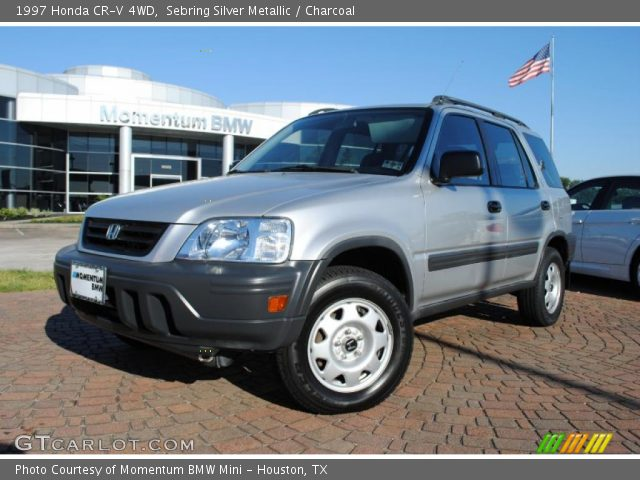 Sebring Silver Metallic 1997 Honda Cr V 4wd Charcoal Interior Vehicle