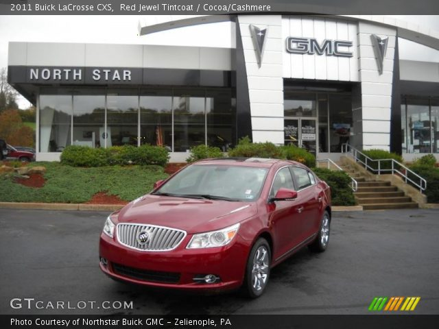 2011 Buick LaCrosse CXS in Red Jewel Tintcoat
