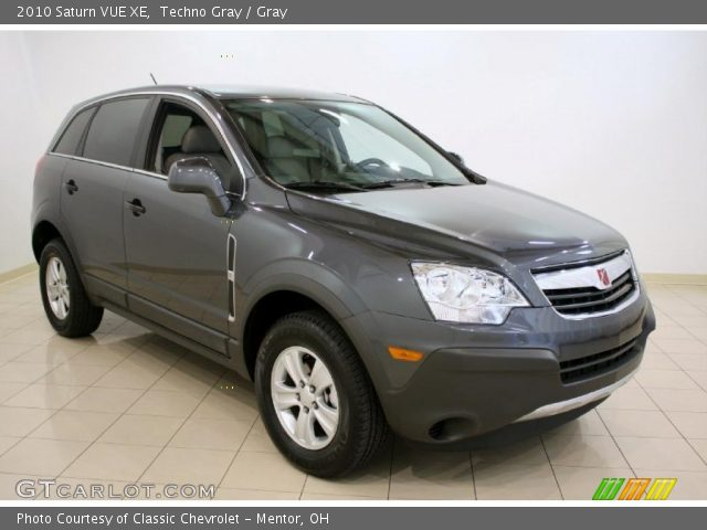 techno gray 2010 saturn vue xe gray interior vehicle archive 37699929. Black Bedroom Furniture Sets. Home Design Ideas