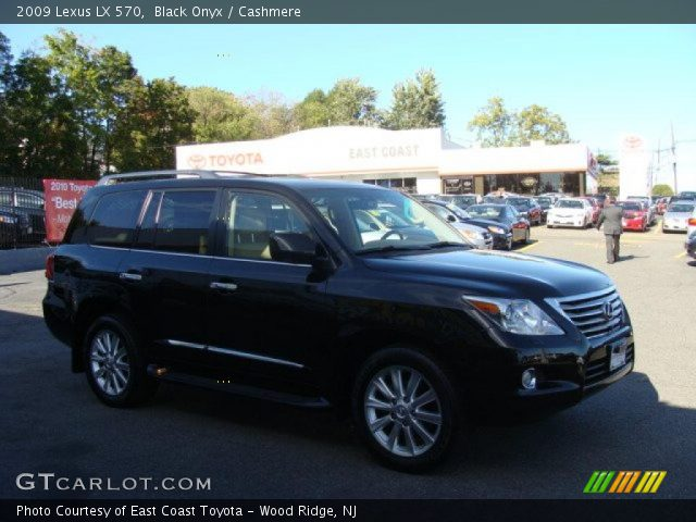 black onyx 2009 lexus lx 570 cashmere interior. Black Bedroom Furniture Sets. Home Design Ideas