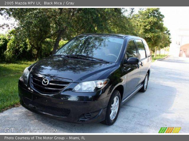 2005 Mazda MPV LX in Black Mica