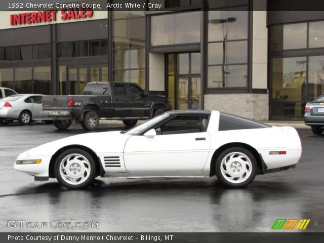 Arctic white 1992 chevrolet corvette coupe gray interior vehicle archive 1992 corvette interior parts