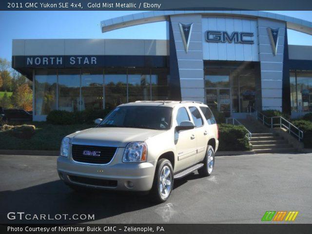 2011 GMC Yukon SLE 4x4 in Gold Mist Metallic