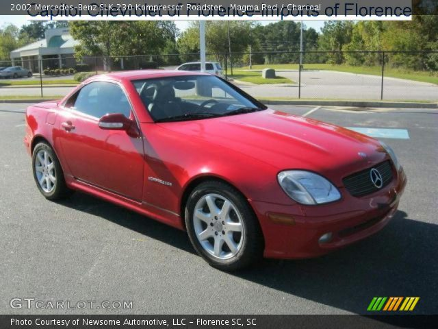magma red 2002 mercedes benz slk 230 kompressor roadster. Black Bedroom Furniture Sets. Home Design Ideas