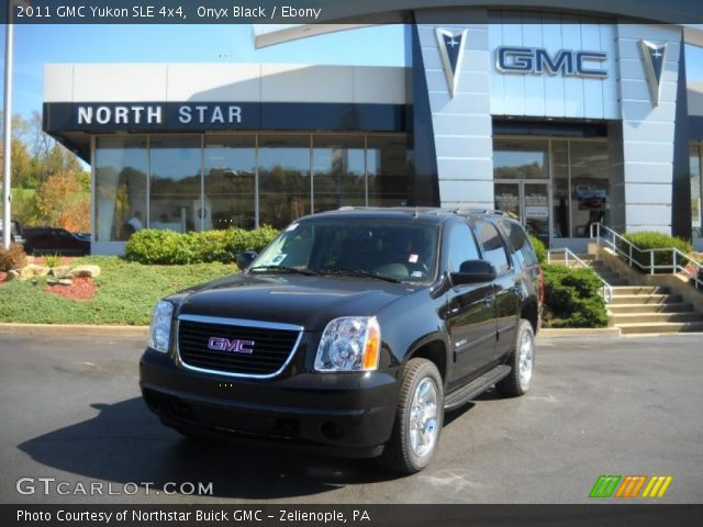 2011 GMC Yukon SLE 4x4 in Onyx Black