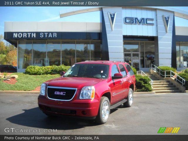 2011 GMC Yukon SLE 4x4 in Red Jewel Tintcoat