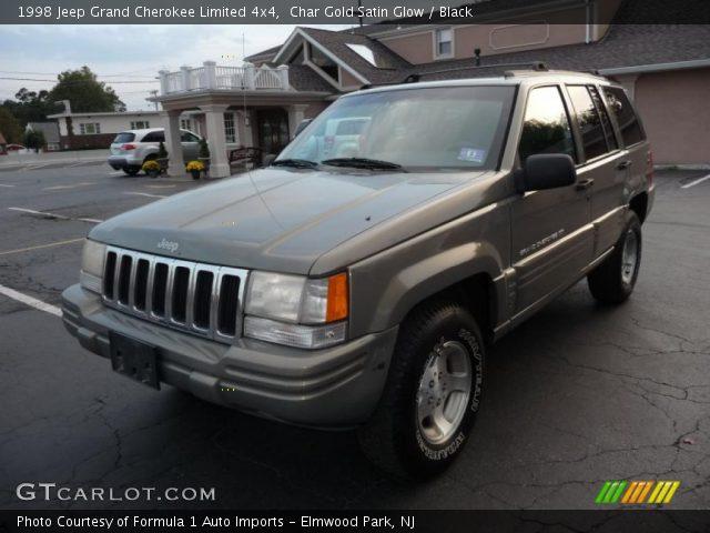 Char gold satin glow 1998 jeep grand cherokee limited 4x4 black interior for 1998 jeep grand cherokee interior