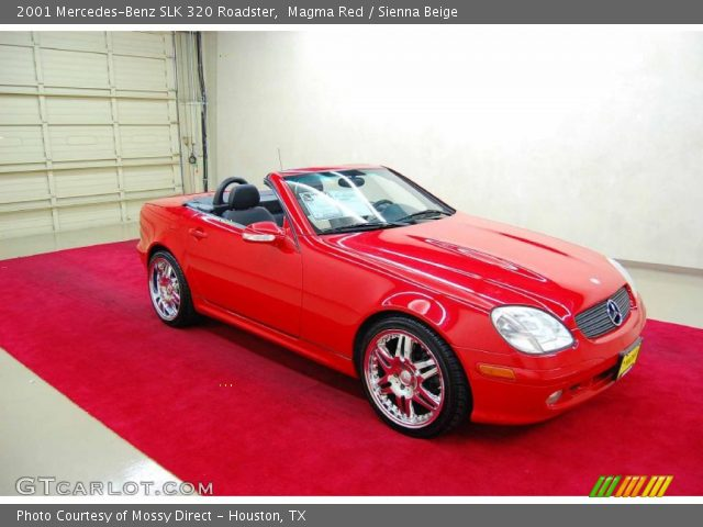 2001 Mercedes-Benz SLK 320 Roadster in Magma Red