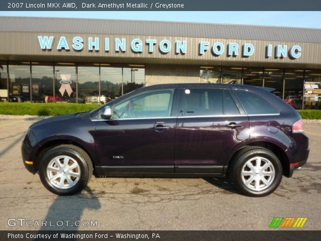 2007 Lincoln MKX AWD in Dark Amethyst Metallic. Click to see large ...