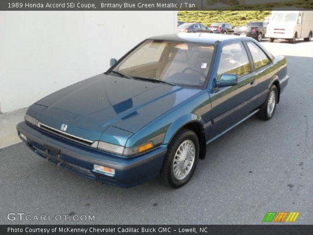 1989 Honda Accord SEi Coupe in Brittany Blue Green Metallic