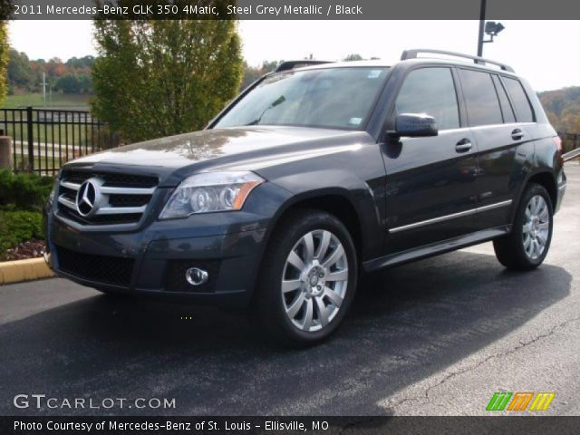 2011 Mercedes-Benz GLK 350 4Matic in Steel Grey Metallic