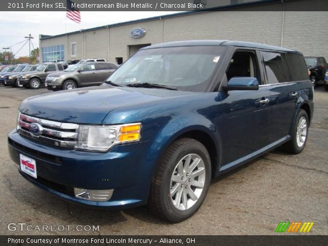 mediterranean blue metallic 2011 ford flex sel. Black Bedroom Furniture Sets. Home Design Ideas