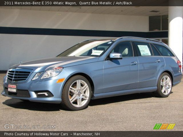 Quartz blue metallic 2011 mercedes benz e 350 4matic for 2011 mercedes benz e350 4matic wagon for sale