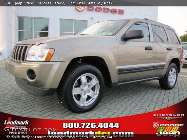 Light khaki metallic 2005 jeep grand cherokee laredo - 2005 jeep grand cherokee laredo interior ...