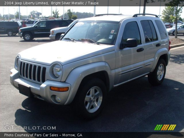 bright silver metallic 2004 jeep liberty limited taupe