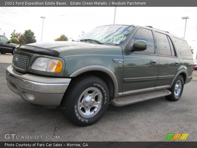 estate green metallic 2001 ford expedition eddie bauer. Black Bedroom Furniture Sets. Home Design Ideas