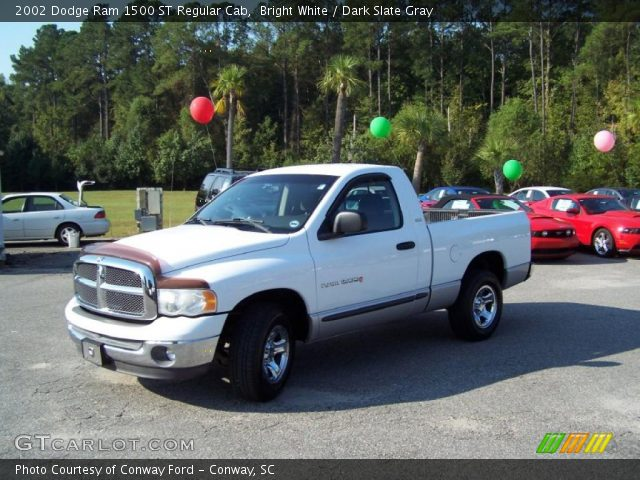 2002 Dodge Ram 1500 White 2002 Dodge Ram 1500 st Regular