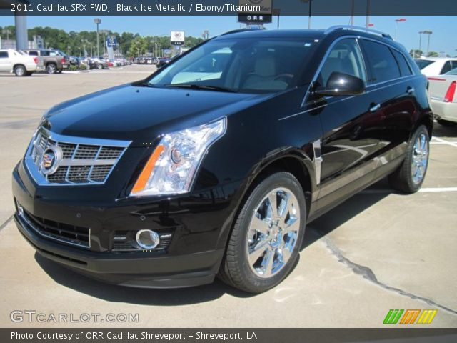 2011 Cadillac SRX FWD in Black Ice Metallic