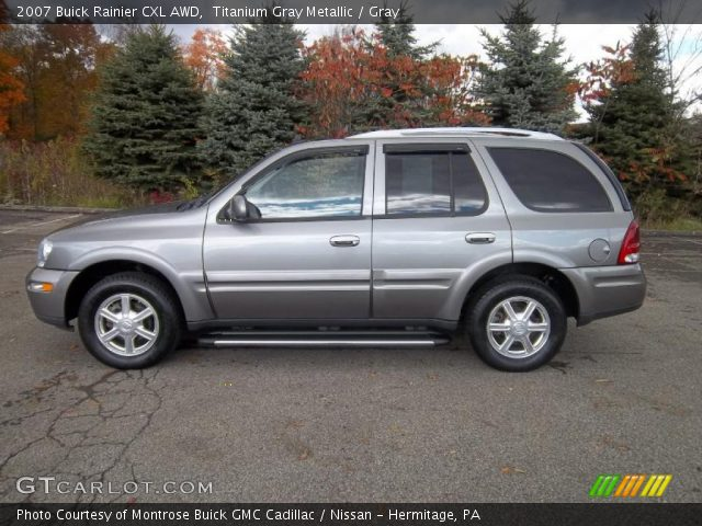 2007 Buick Rainier CXL AWD in Titanium Gray Metallic