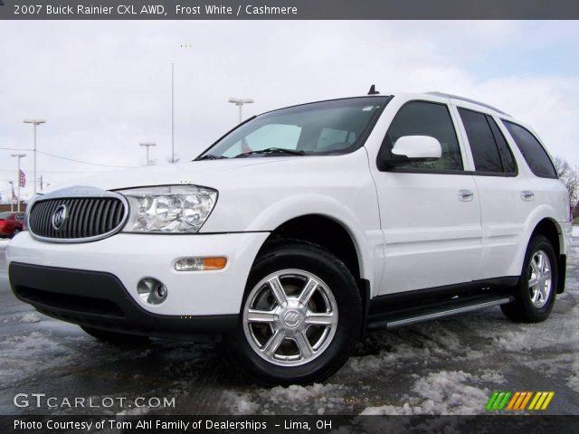frost white 2007 buick rainier cxl awd cashmere interior vehicle archive. Black Bedroom Furniture Sets. Home Design Ideas