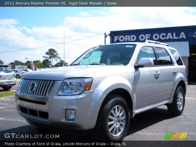 2011 Mercury Mariner Premier V6 in Ingot Silver Metallic