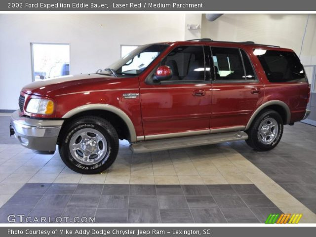 laser red 2002 ford expedition eddie bauer medium parchment interior. Black Bedroom Furniture Sets. Home Design Ideas