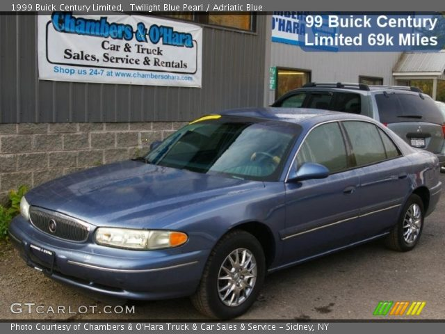 twilight blue pearl 1999 buick century limited. Black Bedroom Furniture Sets. Home Design Ideas