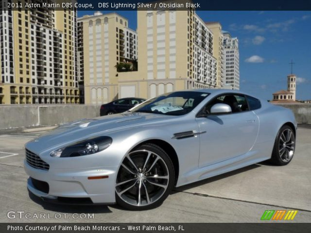 2011 Aston Martin DBS Coupe in DBS Lightning Silver