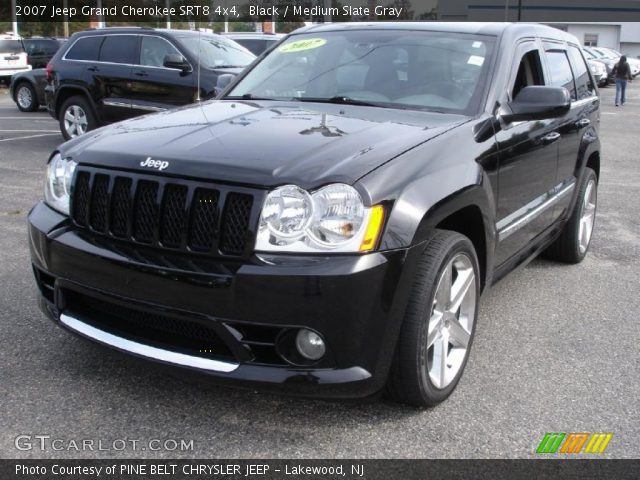 black 2007 jeep grand cherokee srt8 4x4 medium slate. Black Bedroom Furniture Sets. Home Design Ideas