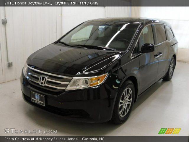2011 Honda Odyssey EX-L in Crystal Black Pearl