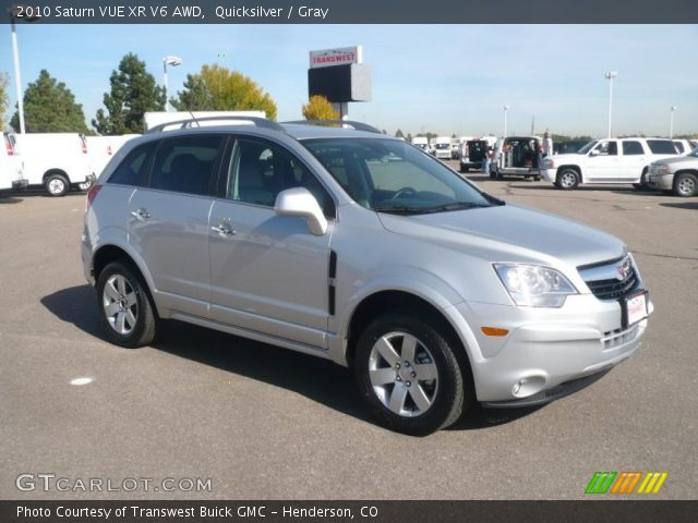 quicksilver 2010 saturn vue xr v6 awd gray interior vehicle archive 38341901. Black Bedroom Furniture Sets. Home Design Ideas