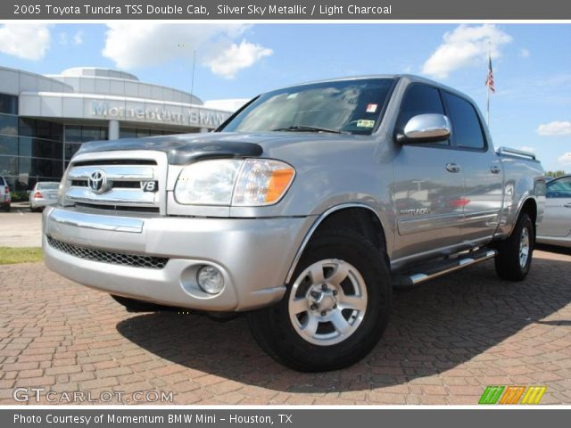 silver sky metallic 2005 toyota tundra tss double cab light charcoal interior. Black Bedroom Furniture Sets. Home Design Ideas