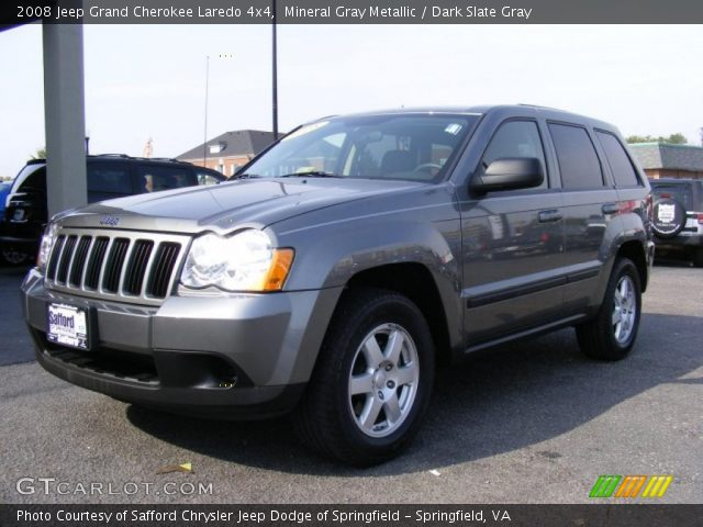Mineral Gray Metallic 2008 Jeep Grand Cherokee Laredo 4x4 Dark Slate Gray Interior