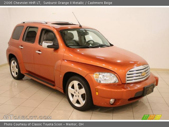 Sunburst Orange Ii Metallic 2006 Chevrolet Hhr Lt Cashmere